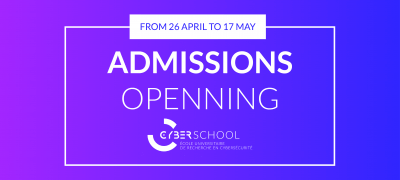 CyberSchool admissions are open
